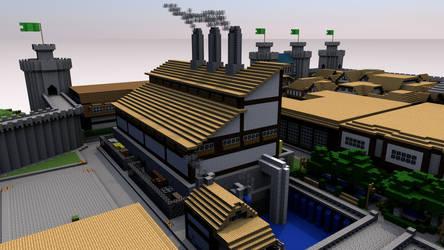 Castillo Power Plant by thinkaliker
