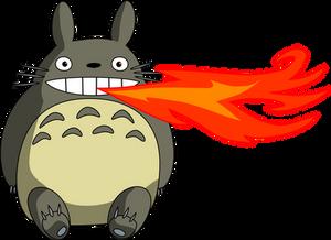 Fire Breathing Totoro