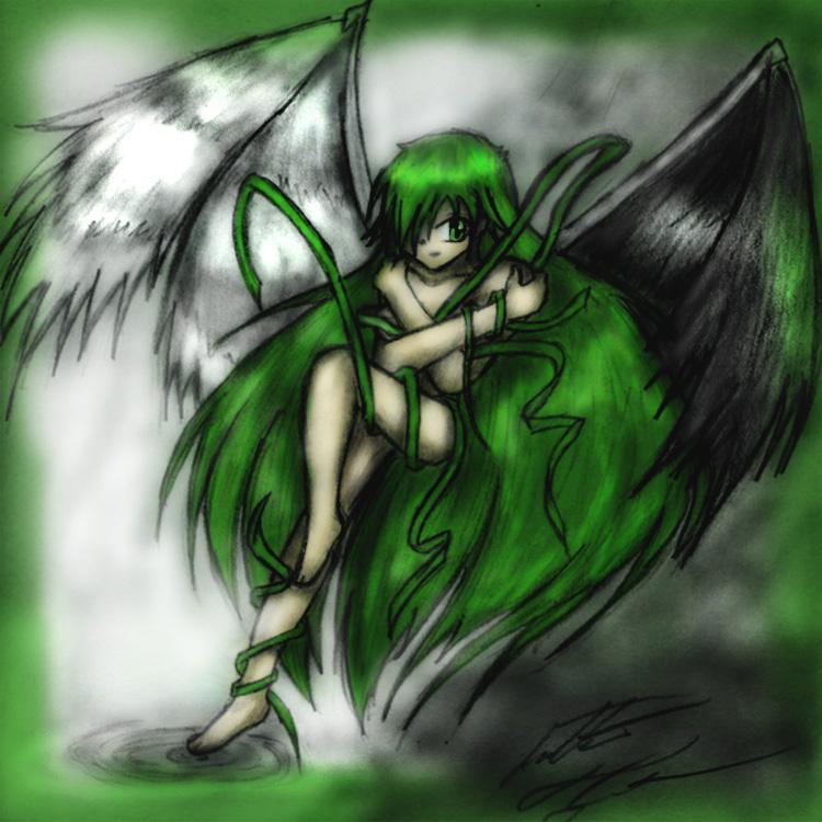 Nice Evil Angel by JTDrawingDragon