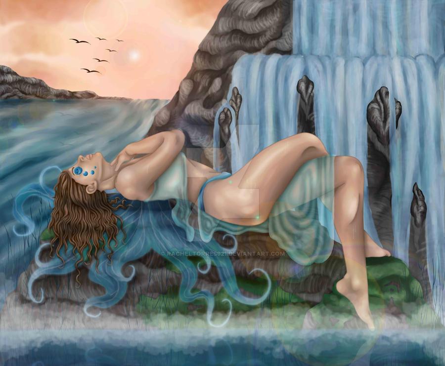 Water Fairy I by racheltorres921