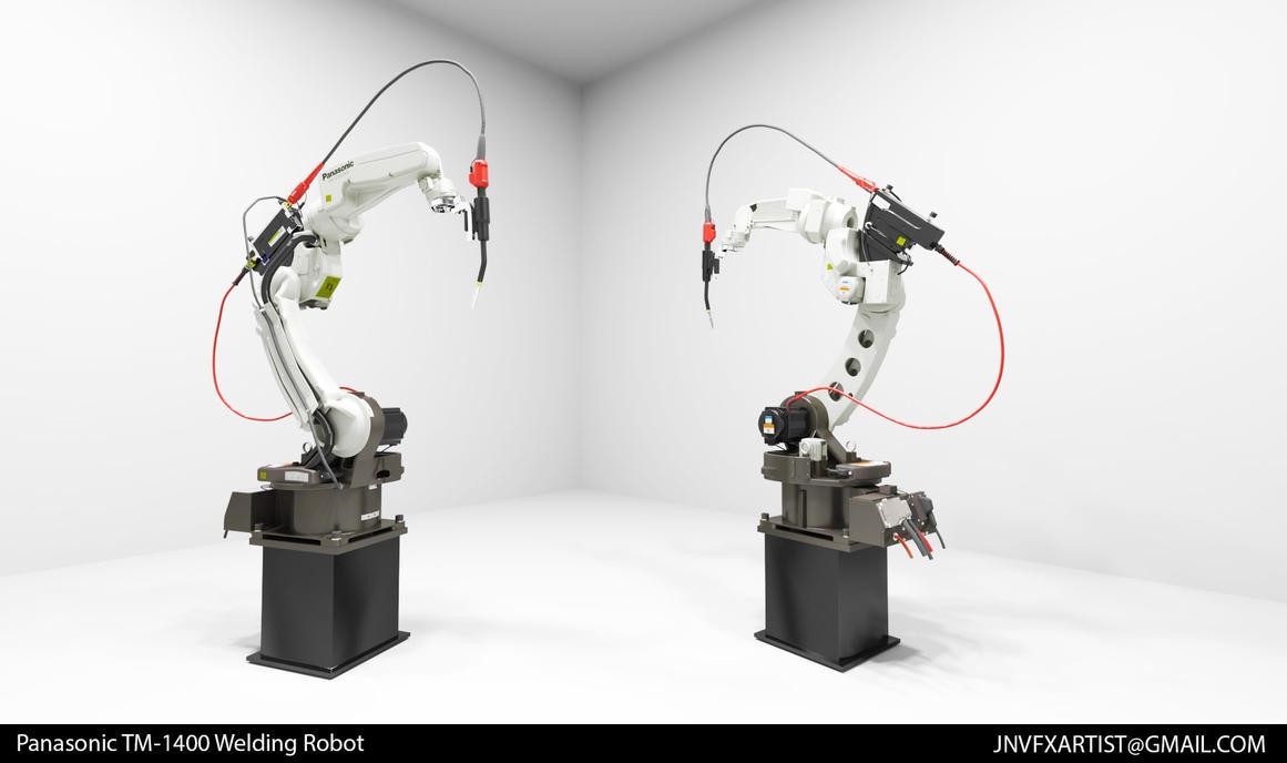 Panasonic TM-1400 Welding Robot Prop by JordanNVFX