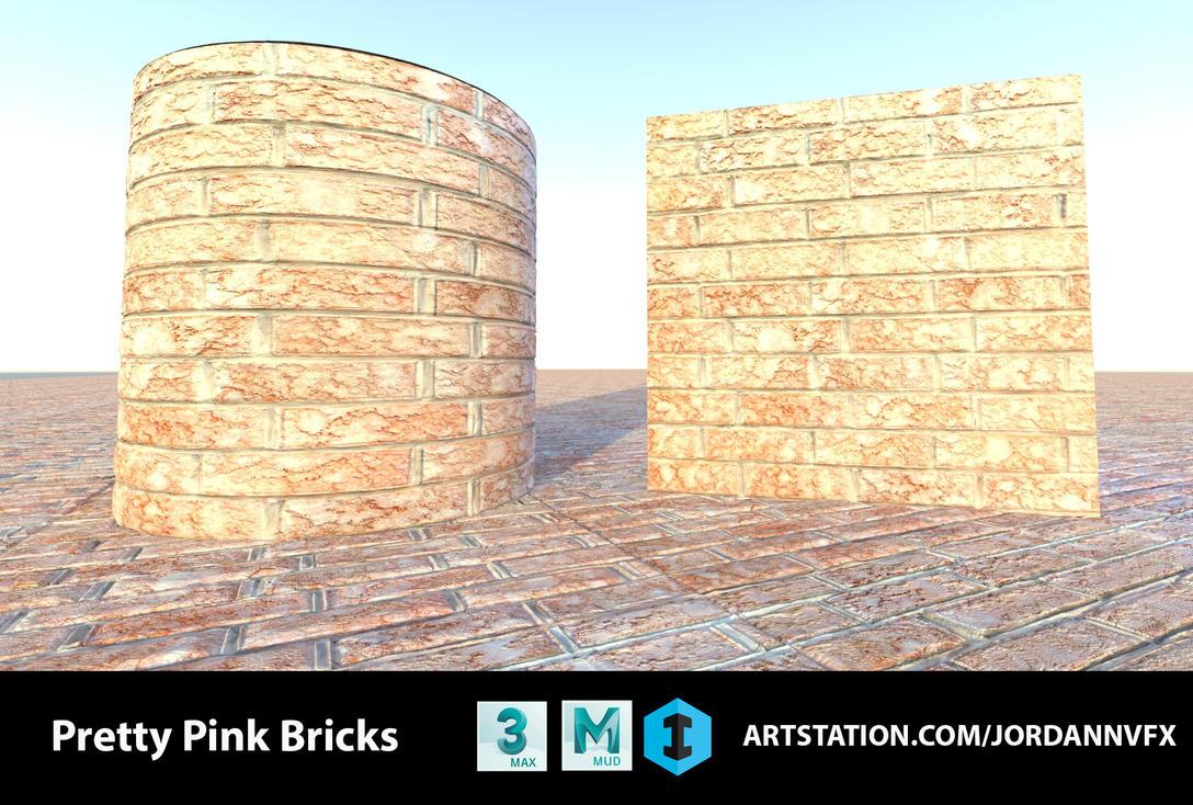 Modular Brick Material by JordanNVFX