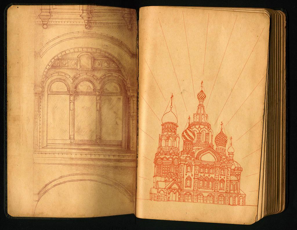 Moleskine - Architecture by LiaT34