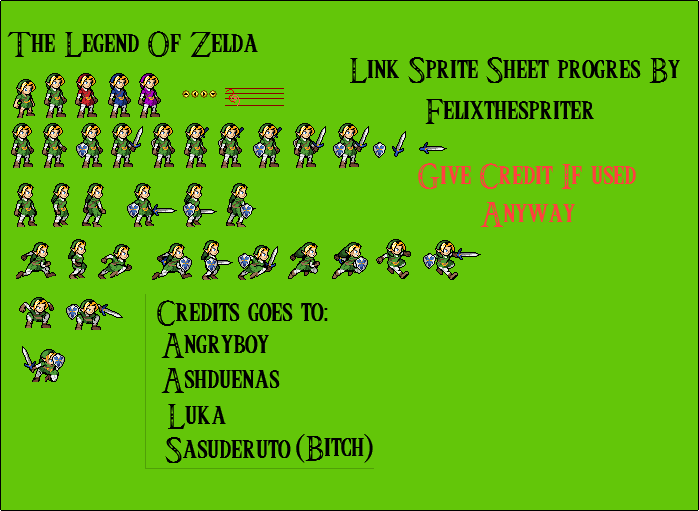 Link LSWS [Old Everywhere] by Felixthespriter