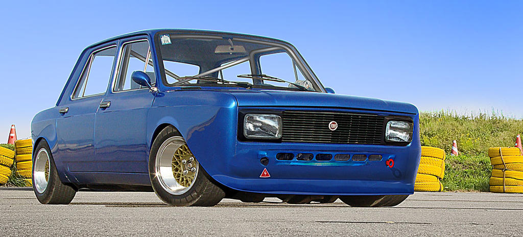 fiat تحفه..؟؟؟ My_Fiat_128_tuned_by