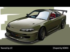 Nissan S15 Toon by zeba5
