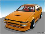 -Toyota Tueno AE86 D1GP-