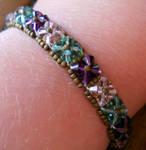 Crystal Vines Tennis Bracelet