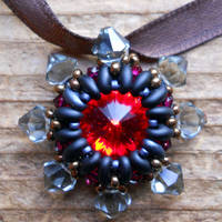 Star of Chaos Rivoli Pendant