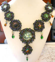 Crystal Lilies v 2.0 by OdinsBeadHall