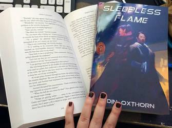 Sleepless Flame Paperbacks by OdinsBeadHall
