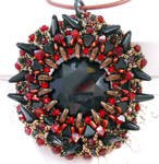 Demagogue's Beacon - Red, Bronze, and Black