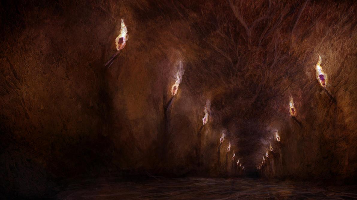 tomb cave by sancient
