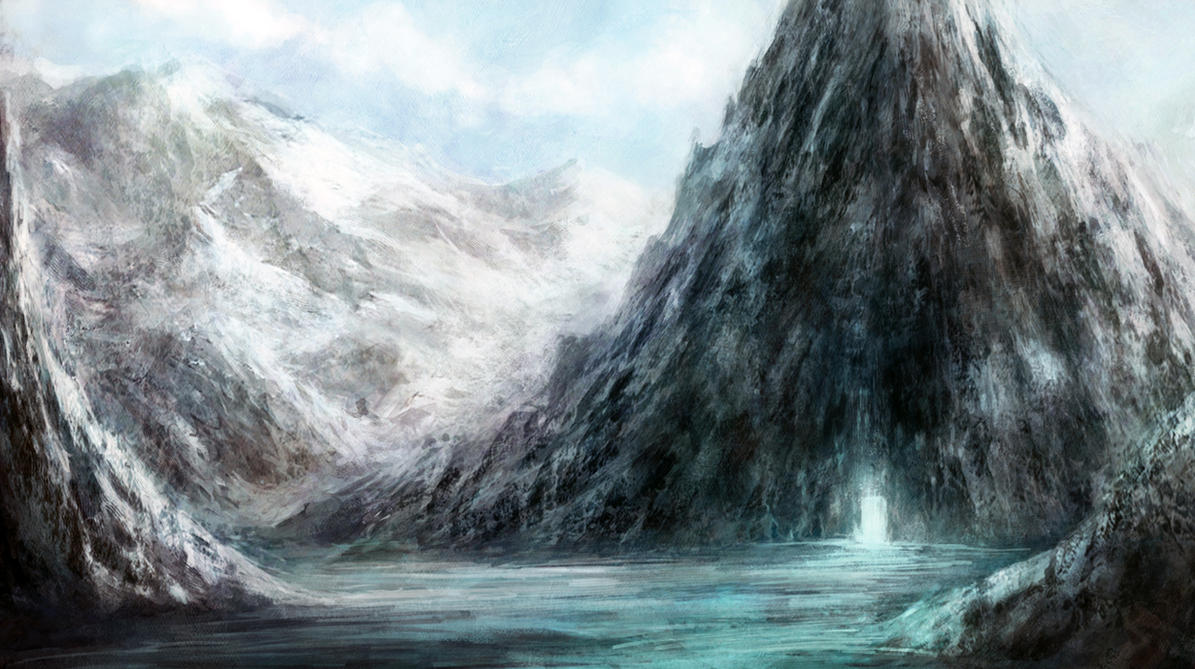 ice cave by sancient
