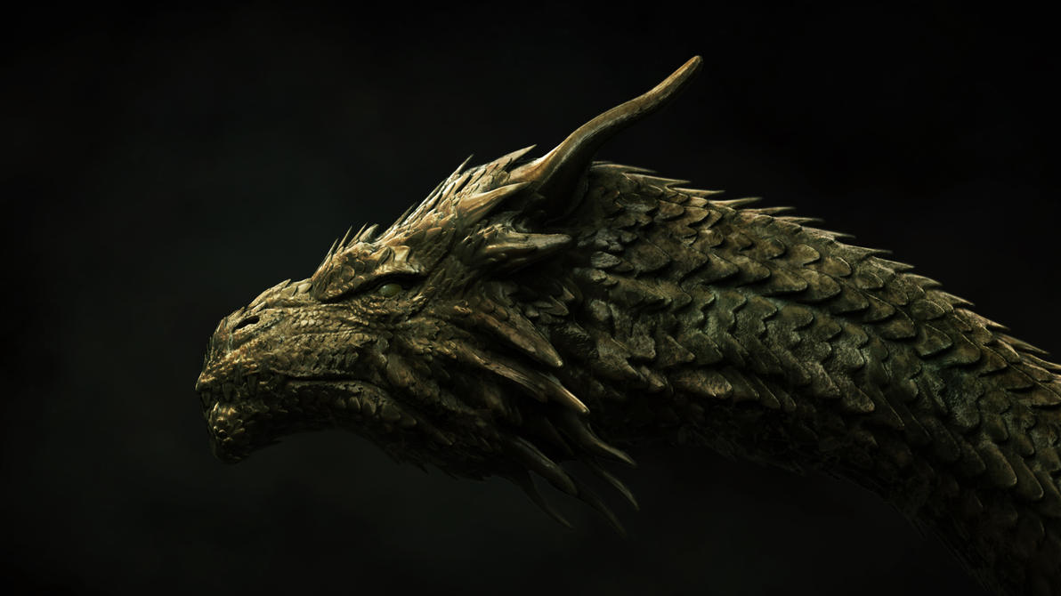 dragon head concept by sancient