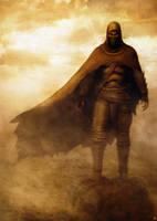 Desert Sanai warrior by sancient