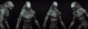 Kalek creature concept by sancient