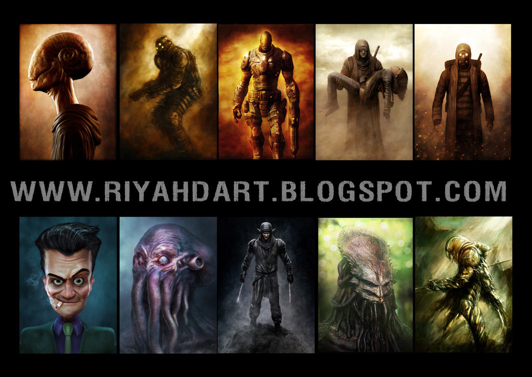 Riyahd Artblog by sancient