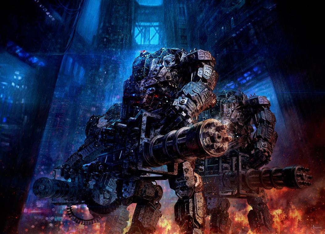 Juggernaut Mech Design by sancient