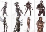 Terra Character concepts