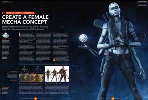 3d World Magazine 197 Mecha Tutorial by sancient