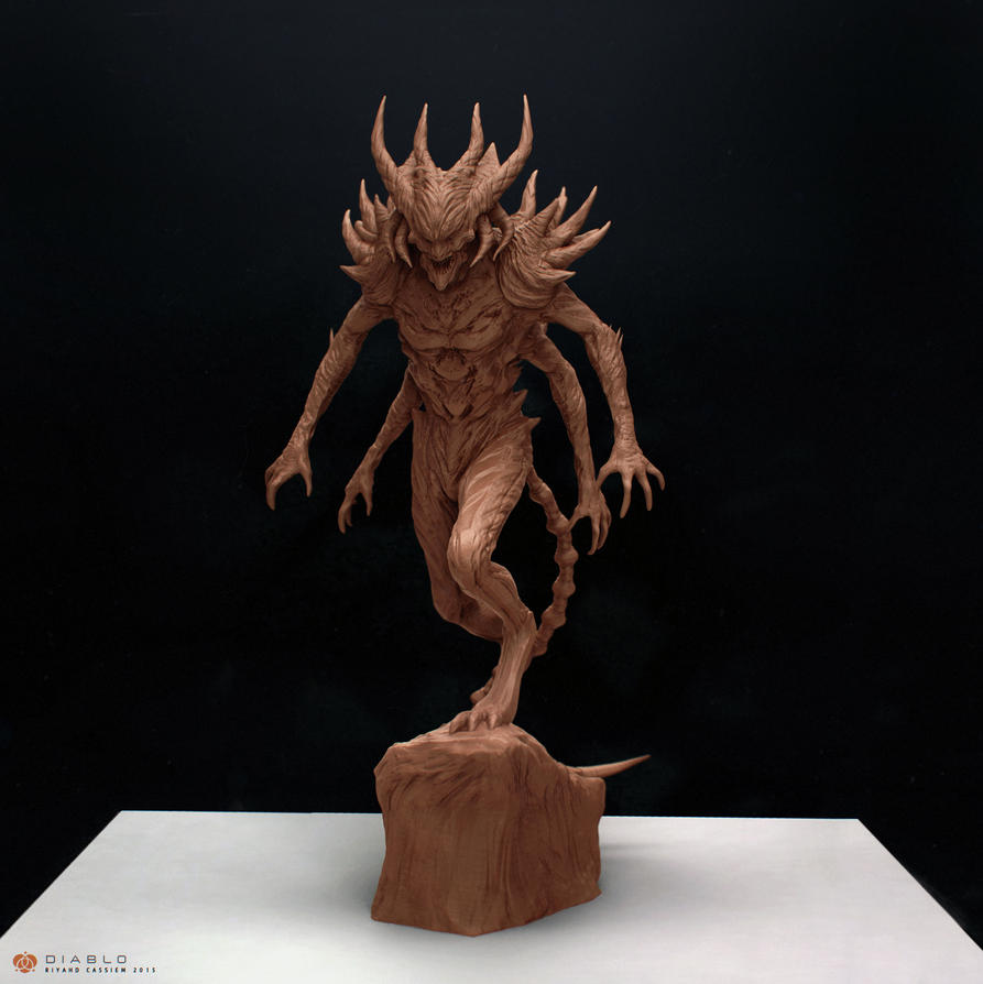 Diablo Sculpt by sancient