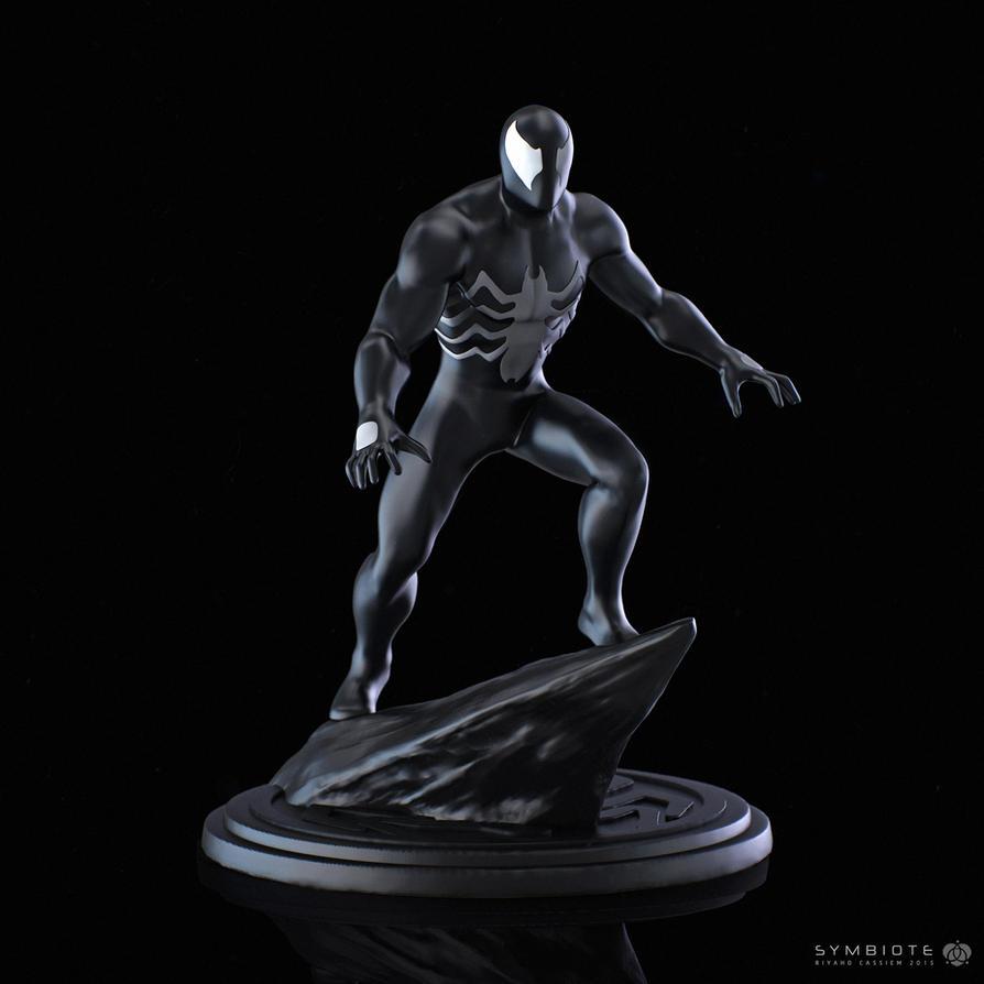 SpiderMan Symbiote Suit by sancient