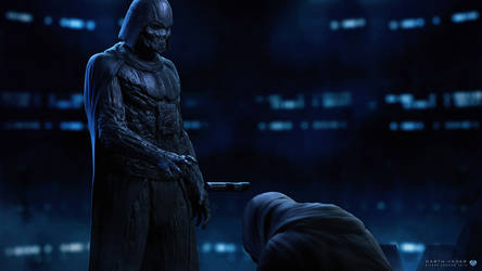 Vader Force Ghost  Apprentice by sancient