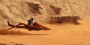 Dune heist concept