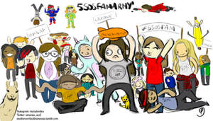 The 5sosfam is ready to fight! #vote5sos #kca