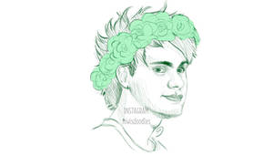 Flowercrown!Michael