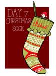 Day 7: Christmas sock