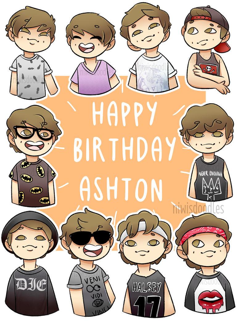 Happy Birthday Ashton! by Amnesia5sos