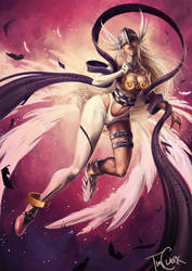 Angewomon by xSheepi