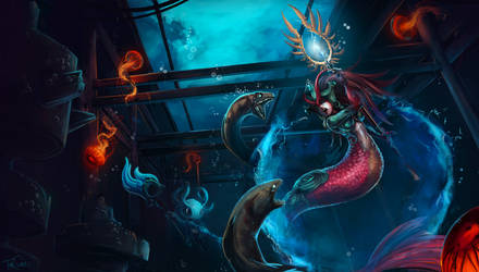 League Of Legends: Nami and Fizz