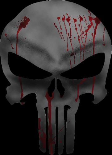 Punisher's Skull by BiigBay on DeviantArt