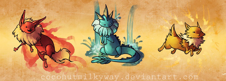 eevers by CoconutMilkyway