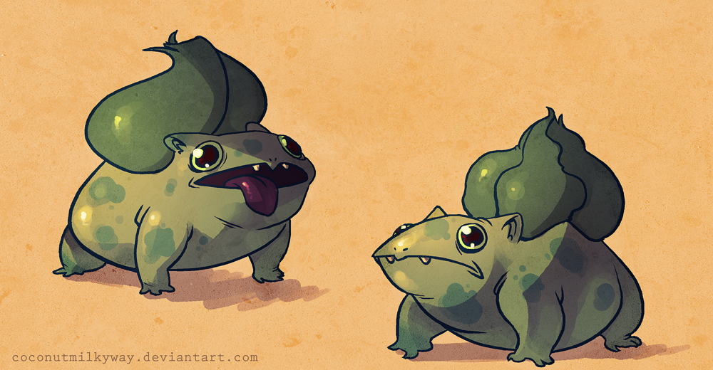 bulbas by CoconutMilkyway