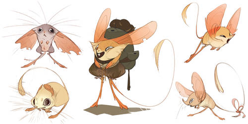 Jerboas by CoconutMilkyway