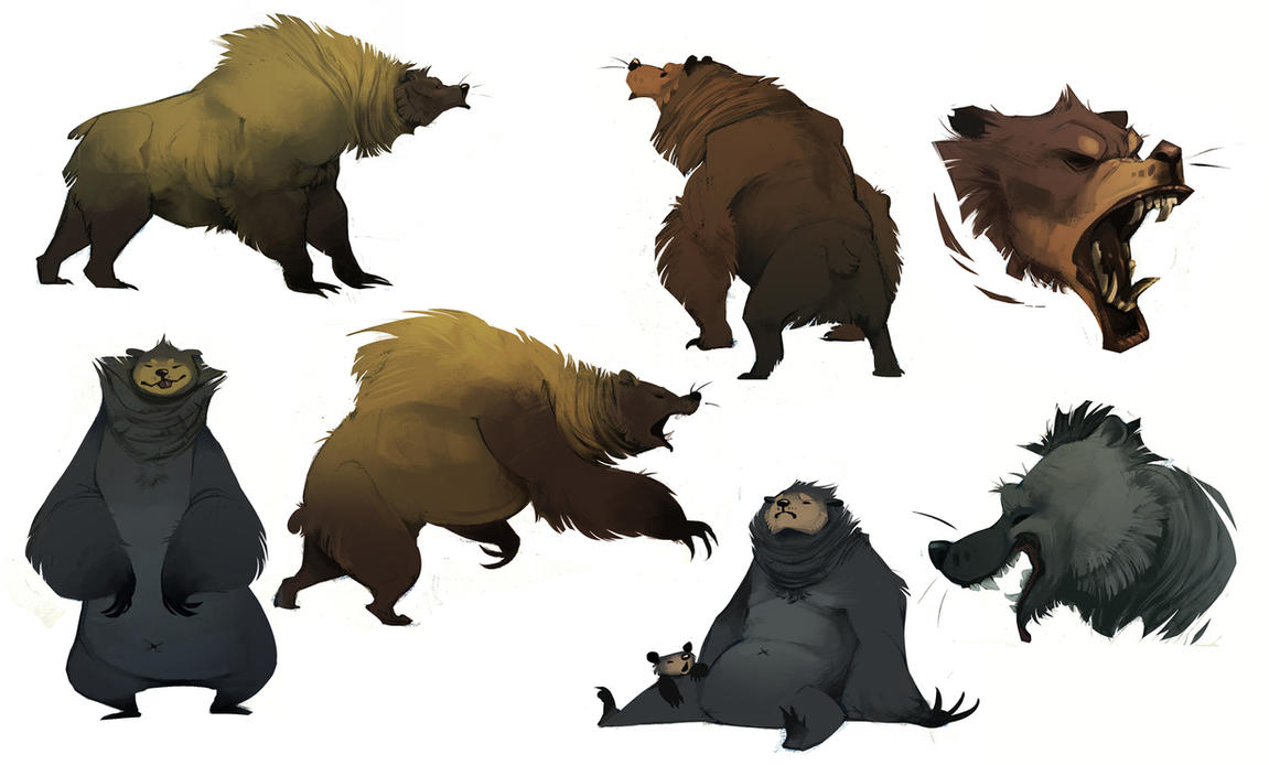 Bears by CoconutMilkyway