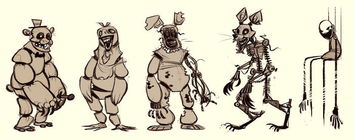 five nights at freddys friends