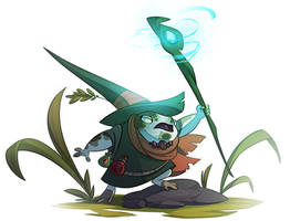 Rainfrog mage