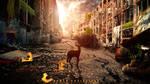Human extinction - coloured version