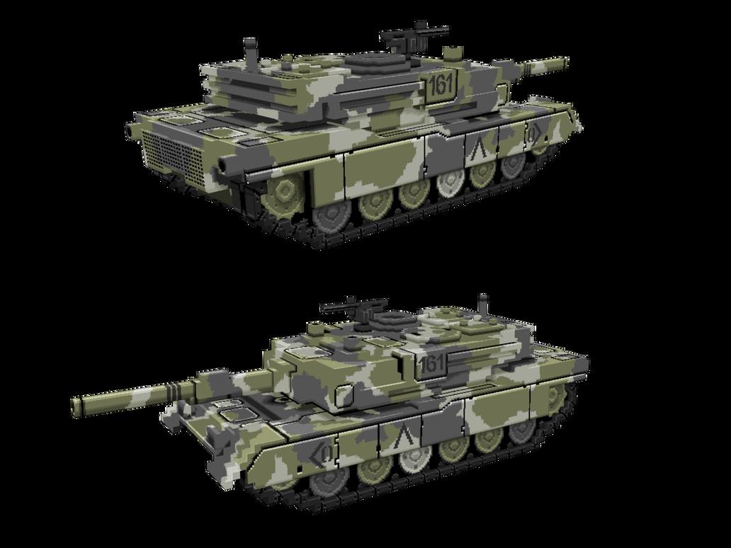 Pixel Tank by DartP
