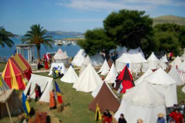 Mini crusade camp