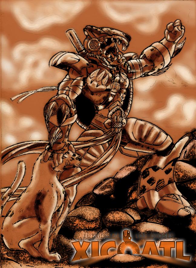 Aztec Jaguar Warrior Wallpaper | Design images