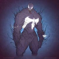 Venom Fan Art by RainyDay2d