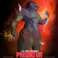 Predator Fan Art by RainyDay2d
