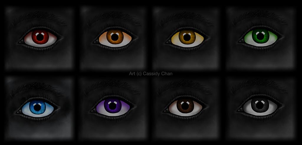 Digital Eye Colours by TheDiamondUniverse