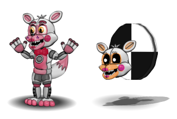 Funtime Foxy And LolBit by CircusFred18